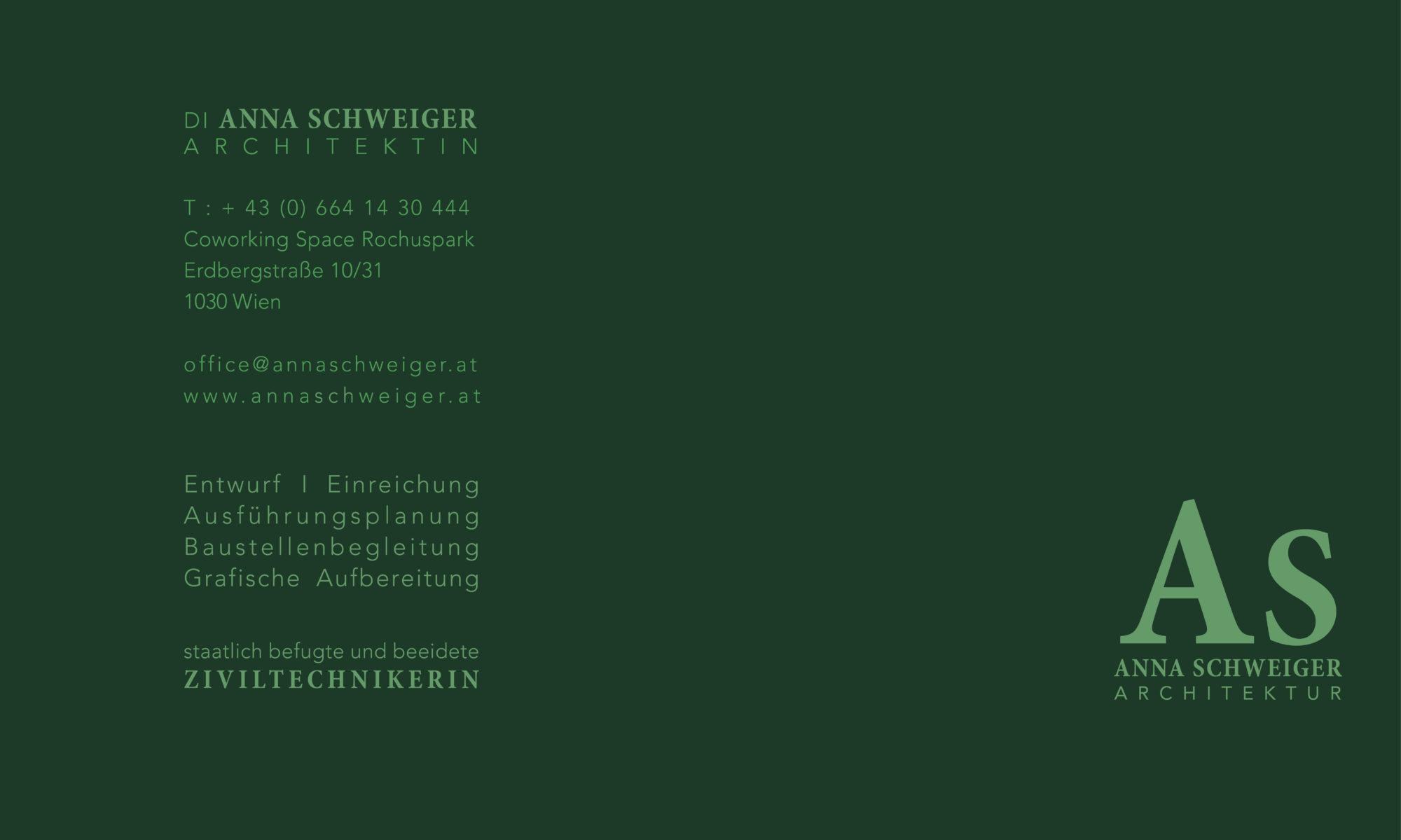 Anna Schweiger Architektur Wien